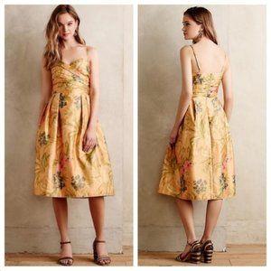 NWOT Anthropologie James Coviello Botanica Dress